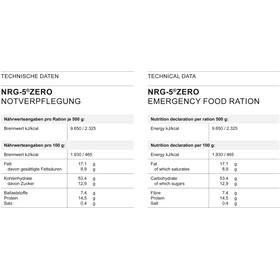 Trek'n Eat NRG-5 Zero Ration de secours 500g